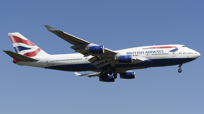 G-BNLY - Boeing 747-436 - British Airways
