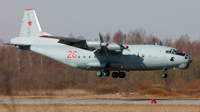 26 - Antonov An-12BP - Russia - Air Force