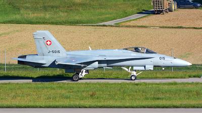 J-5015 - McDonnell Douglas F/A-18C Hornet - Switzerland - Air Force