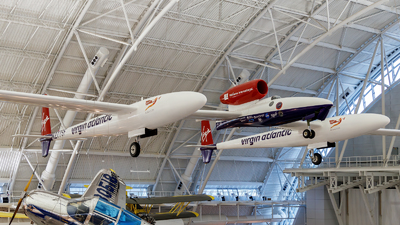 N277SF - Scaled Composites Triumph - Virgin Atlantic Airways