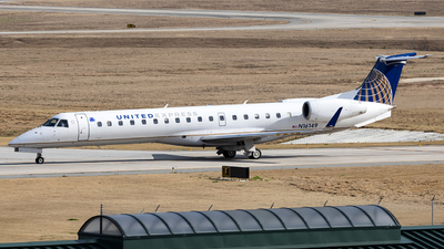 A picture of N16149 - Embraer ERJ145XR - United Airlines - © JinZi