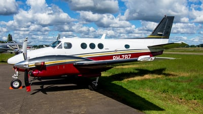 A picture of PHZBZ - Beechcraft C90A King Air - [LJ1164] - © Dutch
