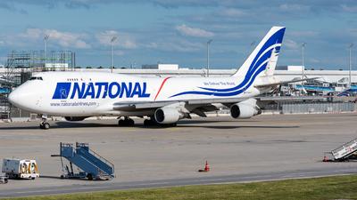N756CA - Boeing 747-412(BCF) - National Airlines