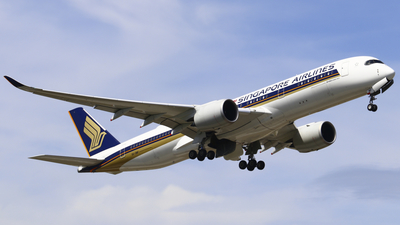9V-SMP - Airbus A350-941 - Singapore Airlines