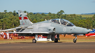 A27-22 - British Aerospace Hawk Mk.127 Lead-In Fighter - Australia - Royal Australian Air Force (RAAF)