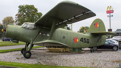 458 - Antonov An-2T - German Democratic Republic - Air Force