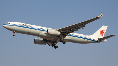 A picture of B6523 - Airbus A330343 - Air China - © faks