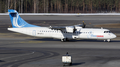 OH-ATJ - ATR 72-212A(500) - Finncomm Airlines