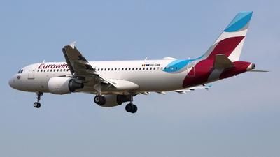 OO-SNN - Airbus A320-214 - Eurowings (Brussels Airlines)