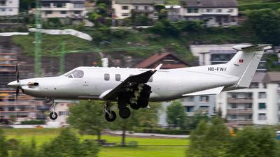 HB-FWF - Pilatus PC-12/47E - Pilatus Aircraft