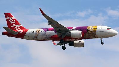 A picture of PKAZN - Airbus A320216 - AirAsia - © Luqman Alif