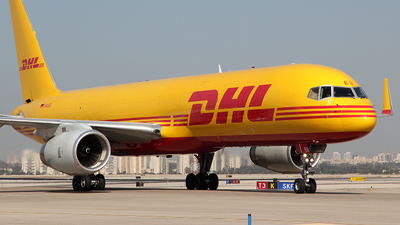 A picture of DALEU - Boeing 75723N(SF) - DHL - © Rami Mizrahi