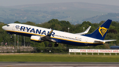A picture of EIEBZ - Boeing 7378AS - Ryanair - © Jess Hall