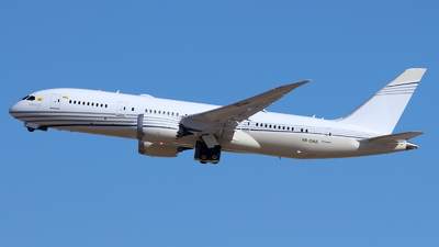 V8-OAS - Boeing 787-8(BBJ) Dreamliner - Brunei - Sultan's Flight