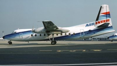 F-BPNG - Fokker F27-500 Friendship - Air Inter