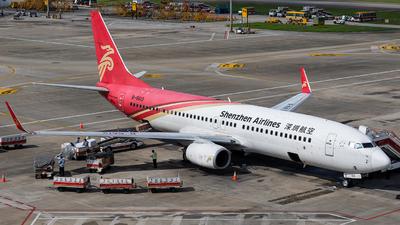 B-5612 - Boeing 737-87L - Shenzhen Airlines