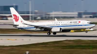 B-7181 - Boeing 737-89L - Air China