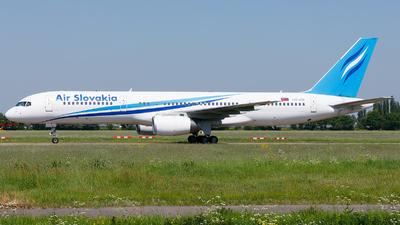 OM-ASB - Boeing 757-236 - Air Slovakia