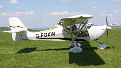 G-FOXW - Aeropro Eurofox 912(1) - Private