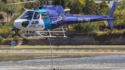 PN-142 - Eurocopter AS 350B3 Ecureuil - Ecuador - Police