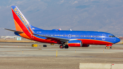 A picture of N7713A - Boeing 7377BD - Southwest Airlines - © Micah Vobora