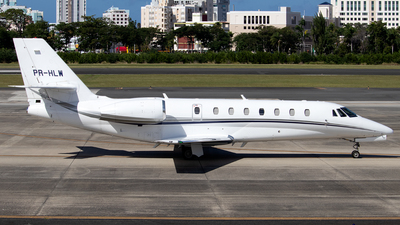 PR-HLW - Cessna 680 Citation Sovereign - Private