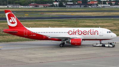 D-ABNN - Airbus A320-214 - Air Berlin