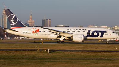 SP-LRH - Boeing 787-8 Dreamliner - LOT Polish Airlines