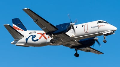 A picture of VHZPA - Saab 340B - Regional Express - © Andrew Lesty