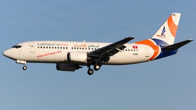 TS-IEC - Boeing 737-33A - Karthago Airlines