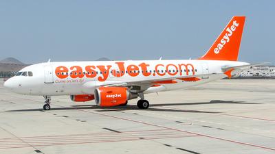 G-EZDD - Airbus A319-111 - easyJet