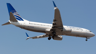 HP-1725CMP - Boeing 737-8V3 - Copa Airlines