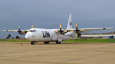 ZS-RSF - Lockheed L-100-30 Hercules - United Nations (Safair)