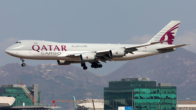 A7-BGB - Boeing 747-83QF - Qatar Airways Cargo