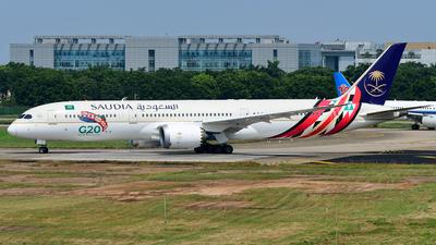 HZ-ARF - Boeing 787-9 Dreamliner - Saudi Arabian Airlines