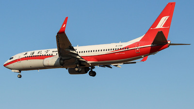 A picture of B1720 - Boeing 73786D - Shanghai Airlines - © KIM MINCHAN