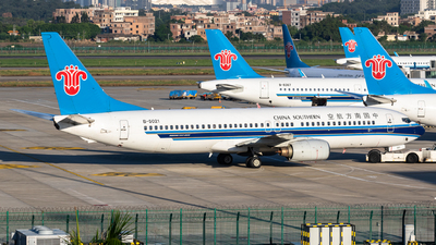 B-5021 - Boeing 737-81B - China Southern Airlines