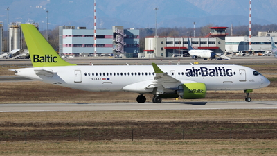 A picture of YLAAT - Airbus A220300 - Air Baltic - © Maurizio Riva