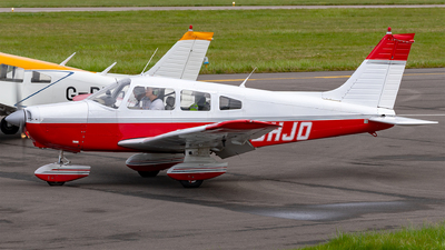 G-BHJO - Piper PA-28-161 Cherokee Warrior II - Private