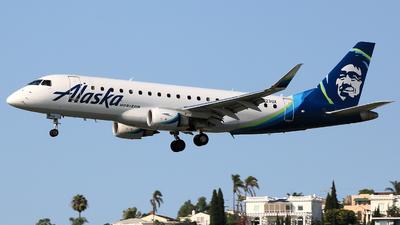 A picture of N623QX - Embraer E175LR - Alaska Airlines - © Jinyuan LIU