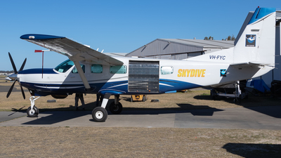 A picture of VHFYC - Cessna 208 Caravan I - [20800260] - © Mark B Imagery