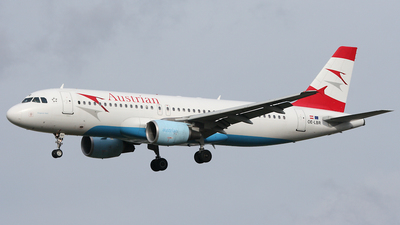 OE-LBR - Airbus A320-214 - Austrian Airlines