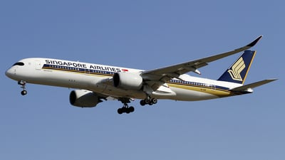 A picture of 9VSHE - Airbus A350941 - Singapore Airlines - © wangpaul