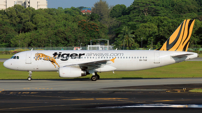 9V-TAX - Airbus A320-232 - Tiger Airways