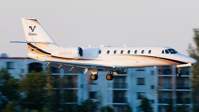 N568VA - Cessna 680 Citation Sovereign - Private