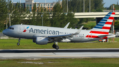 N3014R - Airbus A319-115 - American Airlines