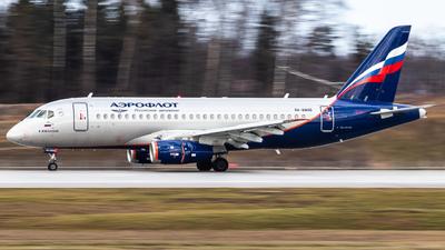 A picture of RA89105 - Sukhoi Superjet 10095B - Aeroflot - © Vadim Shustrov
