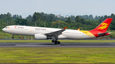 B-8678 - Airbus A330-343 - Capital Airlines