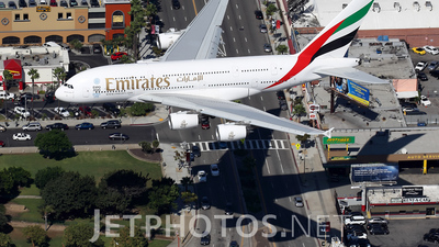 A6-EOE - Airbus A380-861 - Emirates
