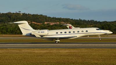 PP-WSR - Gulfstream G650 - Aero Rio Táxi Aéreo